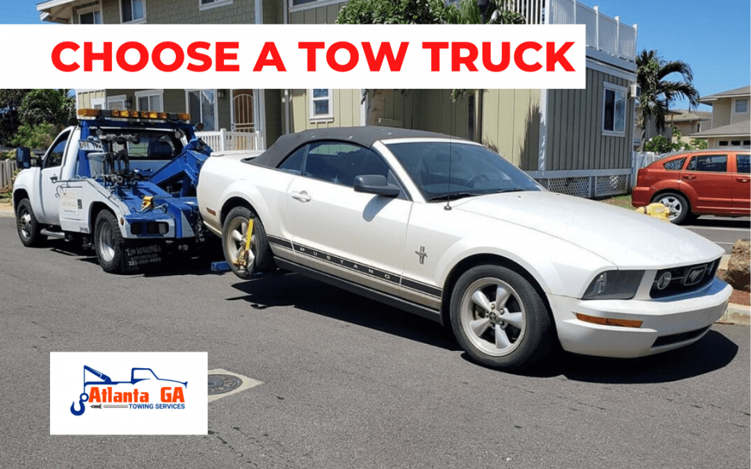 How to Choose a Tow Truck