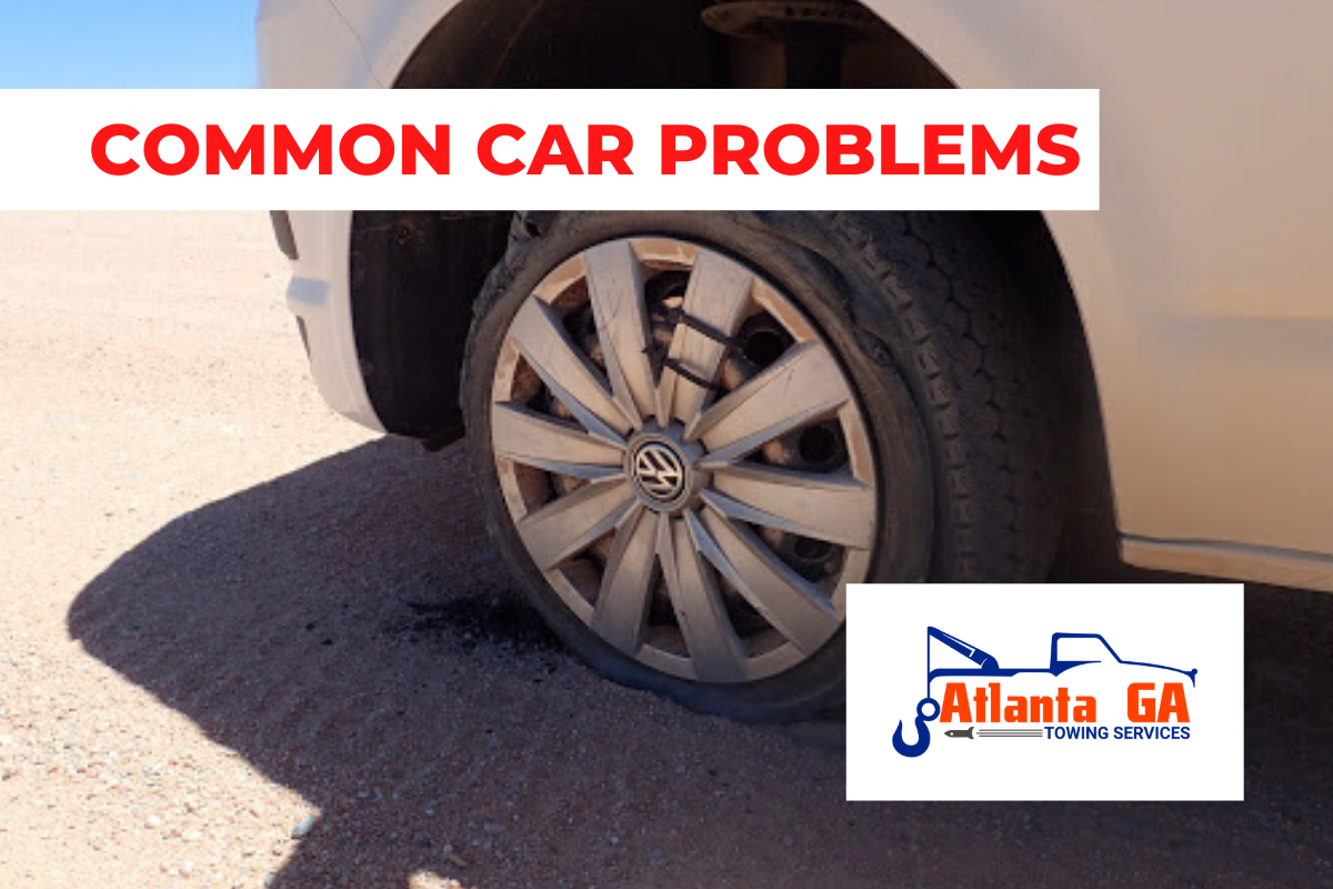 Flat Tire common car problem